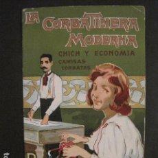 Coleccionismo de carteles: CARTEL PEQUEÑO FORMATO-LA CORBATINERA MODERNA-BARCELONA- LLAVERIAS -CARTULINA - VER FOTOS - (V-8929). Lote 75544315