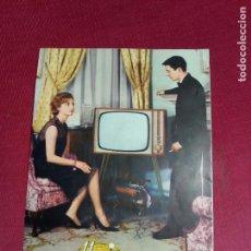 Coleccionismo de carteles: CARTEL DESPLEGABLE TELEVISORES IBERIA - TOTAL VISION. AÑOS 50 - 60. Lote 76390439