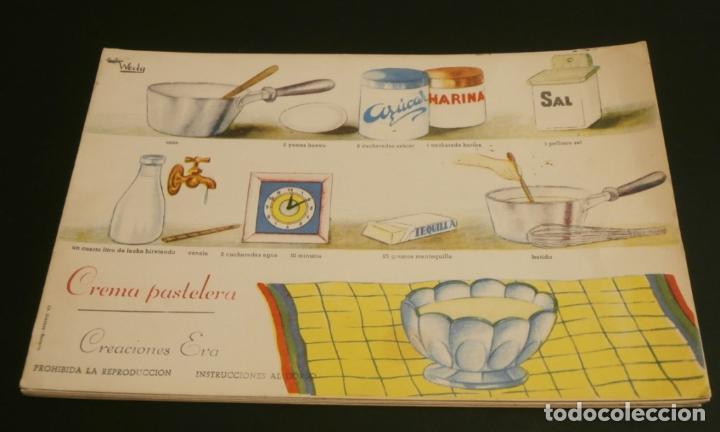 Coleccionismo de carteles: Ficha cocina practica WALY 7 fichas - Foto 7 - 76565823