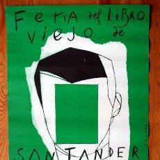Coleccionismo de carteles: EDUARDO ARROYO - CARTEL 44X30 CM. Lote 58369757