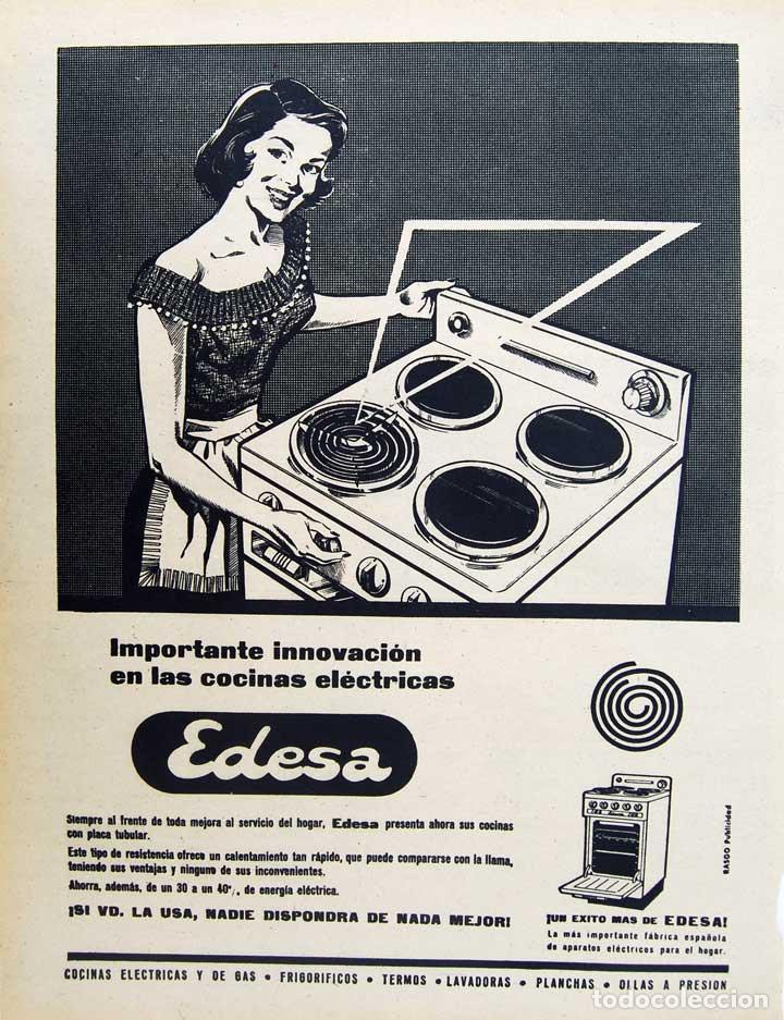 Resultado de imagen para publicidad lavadora edesa antiguas