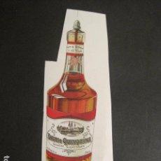 Coleccionismo de carteles: RHUM QUINQUINA - E. OSNOLA - PARIS - FINALES SIGLO XIX -CARTELITO PAPEL-VER FOTOS-(V-9337). Lote 78164329