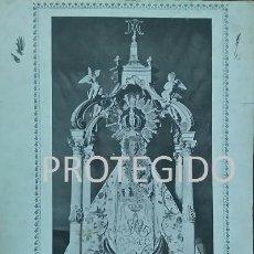 Coleccionismo de carteles: VERDADERO RETRATO DE NUESTRA SEÑORA DE PEÑARROYA QUE SE VENERA EN LA SOLANA CIUDAD REAL. Lote 79652497