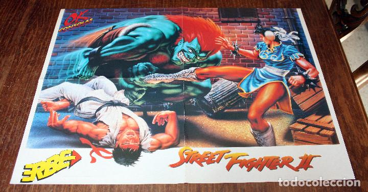 Poster super mario land 2 y street fighter 2 - - Sold