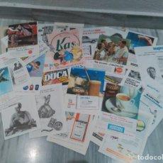 Coleccionismo de carteles: GRAN LOTE DE 70 HOJAS PUBLICITARIAS ANTIGUAS - AÑOS 60 - DIFERENTES MARCAS - VER FOTOS. Lote 80866371