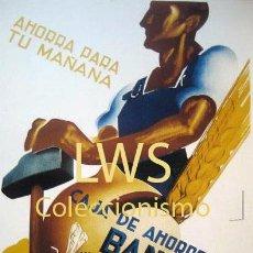 Coleccionismo de carteles: CAJA DE AHORROS BANCO COMERCIAL DE BARCELONA, AHORRA PARA TU MAÑANA - PUBLICIDAD IMÁGENES S-2. Lote 81274728