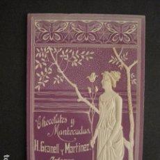 Coleccionismo de carteles: CHOCOLATES MANTECADAS- H. GRANELL Y MARTINEZ - ASTORGA - CARTEL RELIEVE -VER FOTOS -(V-10.692). Lote 84362068