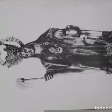 Coleccionismo de carteles: LÁMINA SANTA MARTA. Lote 85613576