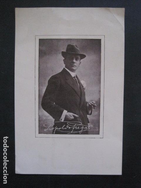 FREGOLI - PEQUEÑO CARTEL -VER FOTOS - (V-11.035) (Coleccionismo - Carteles Pequeño Formato)