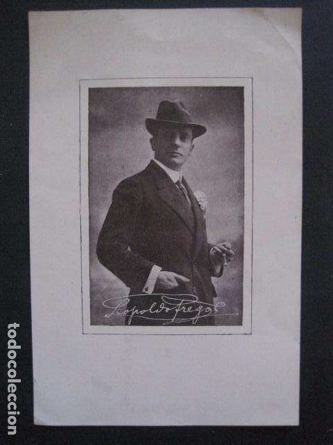 Coleccionismo de carteles: FREGOLI - PEQUEÑO CARTEL -VER FOTOS - (V-11.035) - Foto 2 - 86649668