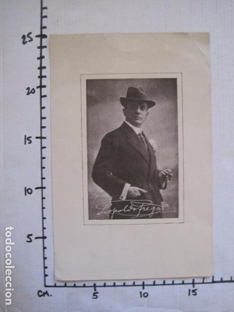 Coleccionismo de carteles: FREGOLI - PEQUEÑO CARTEL -VER FOTOS - (V-11.035) - Foto 5 - 86649668