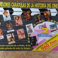Collectionnisme d'affiches: LAS MEJORES CARÁTULAS DE LA HISTORIA DEL CINE. Lote 87018836