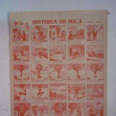 Coleccionismo de carteles: CARTEL AUCA FALLA J. COSTA Y ALTEA. HISTORIA DE MILÁ. AÑO 1946 NUMERO 2 - R. GAYANO LLUCH. Lote 87310968