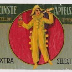 Coleccionismo de carteles: ANTIGUA ETIQUETA PUBLICIDAD NARANJAS FEINSTE CASTELLÓN. LIT.:ARMENGOT CASTELLÓN. Lote 87552828