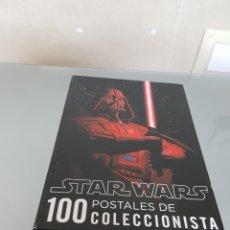 Coleccionismo de carteles: STAR WARS 100 POSTALES DE COLECCIONISTA 2009 LUCASFILMS. Lote 88347547