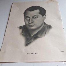 Coleccionismo de carteles: LAMINA DE JOSE ANTONIO...FOTO MARIN.. Lote 88766824