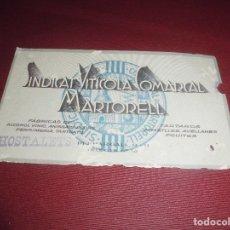 Coleccionismo de carteles: MAGNIFICA TARJETA ANTIGUA,SINDICAT VITICOLA COMARCAL MARTORELL. Lote 89195636