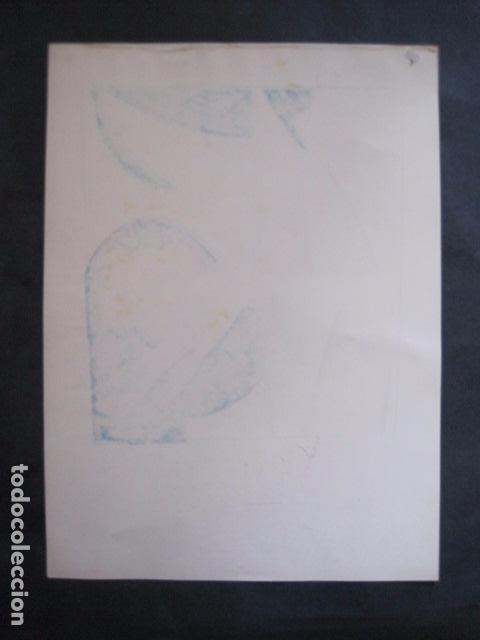 Coleccionismo de carteles: PEQUEÑO CARTEL ANTIGUO - ART DECO - LINCHANTE -VER FOTOS-(V-11.759) - Foto 4 - 91124560