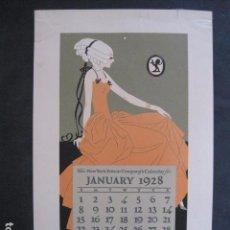 Coleccionismo de carteles: PEQUEÑO CARTEL ANTIGUO - NEW YORK EDISON COMPANY -VER FOTOS-(V-11.762). Lote 91126235
