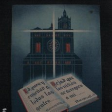 Coleccionismo de carteles: ASAMBLEA CATEQUISTA - MATARO 1948 - PEQUEÑO CARTEL ANTIGUO -VER FOTOS-(V-11.768). Lote 91128105