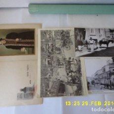 Coleccionismo de carteles: VARIOS CARTEL FARMACIA, EL MEDICO , 2 LAMINAS MALAGA Y OTRO SEVILLA. . Lote 95388463