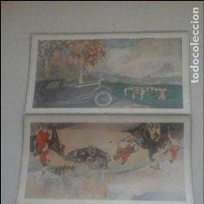 Coleccionismo de carteles: AUTOMÓVILES AVIONS VOISIN. Lote 96019995