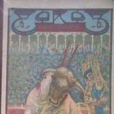 Coleccionismo de carteles: CARTEL DE TOROS PLAZA ALICANTE AÑO 1937. Lote 96036323