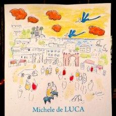 Coleccionismo de carteles: TANGER - MICHELE DE LUCA. Lote 96051775