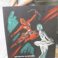 Coleccionismo de carteles: CARTEL EXPOSICIÓN DE PINTURA DE P. CLAPERA . 1957. Lote 96526451