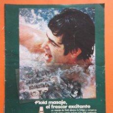 Coleccionismo de carteles: PUBLICIDAD 1967 - COLECCION PERFUMES - FLOID MASAJE. Lote 97194271