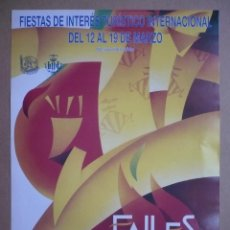 Coleccionismo de carteles: CARTEL FALLES DE VALÈNCIA 1999 - FALLAS - 48 X 34 CM.-. Lote 97267907