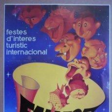 Coleccionismo de carteles: CARTEL FALLES 1993 - FALLAS 50 X 33 CM.-. Lote 97268183