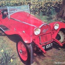 Coleccionismo de carteles: POSTER ALFA ROMEO REVISTA AUTO. Lote 101239139