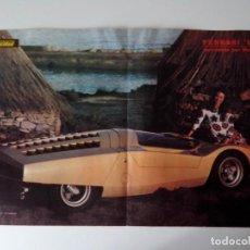 Coleccionismo de carteles: POSTER FERRARI 512 S DE PININFARINA REV. VELOCIDAD. Lote 101239803