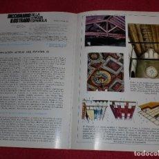 Coleccionismo de carteles: SEPARATA DICCIONARIO ILUSTRADO - AÑOS '70: ENYESADO Y EL MUNDO. Lote 101284307