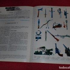 Coleccionismo de carteles: SEPARATA DICCIONARIO ILUSTRADO - AÑOS '70: ARMAS & ÁRBOLES. Lote 101284375