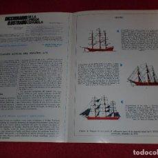 Coleccionismo de carteles: SEPARATA DICCIONARIO ILUSTRADO - AÑOS '70: VELERO & CASCOS. Lote 101284483