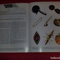 Coleccionismo de carteles: SEPARATA DICCIONARIO ILUSTRADO - AÑOS '70: ALFILER & ABANICO. Lote 101284695