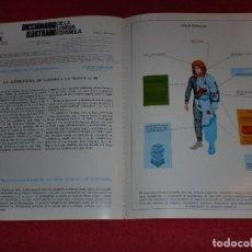 Coleccionismo de carteles: SEPARATA DICCIONARIO ILUSTRADO - AÑOS '70: TRAJE ESPACIAL & ESPADAS. Lote 101284735