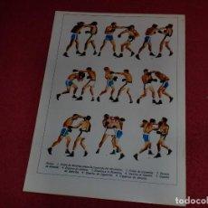 Coleccionismo de carteles: SEPARATA DICCIONARIO ILUSTRADO - AÑOS '70: CARDIOLOGÍA & BOXEO. Lote 101284823