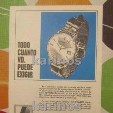 Collezionismo di affissi: 1968 DUWARD RELOJ. (VT68). Lote 101645267