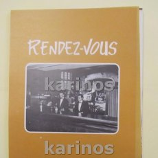Coleccionismo de carteles: 1972 BILBAO. RENDEZ – VOUS CLUB (VT72). Lote 101707499