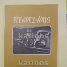 Coleccionismo de carteles: 1972 BILBAO. RENDEZ – VOUS CLUB (VT72). Lote 101707519