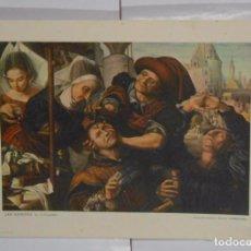 Coleccionismo de carteles: LAMINA COLECCION ESTAMPAS MEDICAS CEREGUMIL Nº 13. MALAGA. JAN SANDERS EL CIRUJANO. TDKPR2. Lote 102337979
