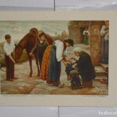 Coleccionismo de carteles: LAMINA COLECCION ESTAMPAS MEDICAS CEREGUMIL Nº 11. MALAGA. MARCELIANO SANTA MARIA. TDKPR2. Lote 102338175