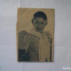 Coleccionismo de carteles: CARTEL DE PUBLICIDAD CONCHITA PIQUER 28 X 11CM. Lote 102373163