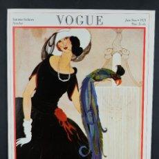Coleccionismo de carteles: CARTEL VINTAGE VOGUE-PORTADA REVISTA JUNIO 1921-SUMMER FASHIONS NUMBER-1970. Lote 104816799
