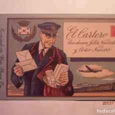 Coleccionismo de carteles: EL CARTERO - CORREOS - FELIZ NAVIDAD - ZORIONAK - PAIS VASCO,.. Lote 105192979
