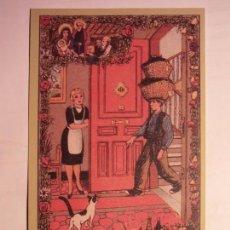 Coleccionismo de carteles: EL CARBONERO - FELICES PASCUAS DE NAVIDAD - ZORIONAK - PAIS VASCO.. Lote 105193247