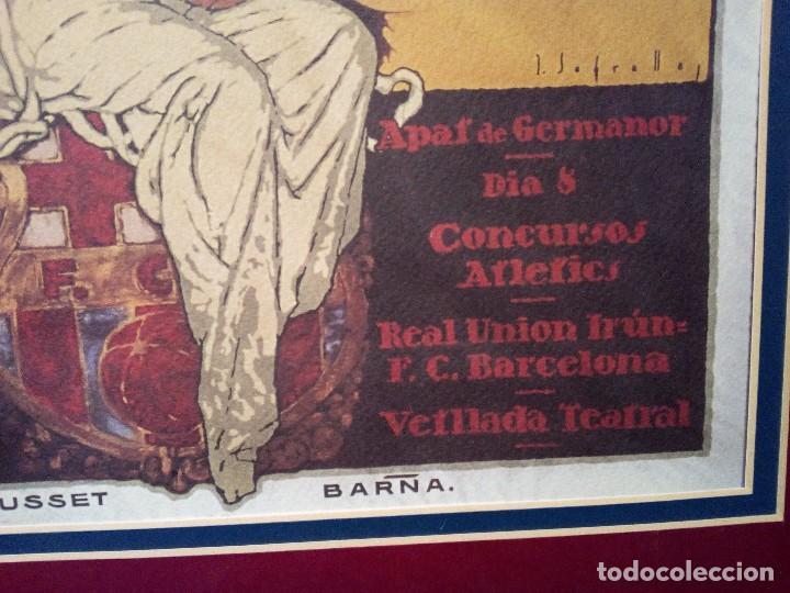 Coleccionismo de carteles: CARTEL NOCES D´ARGENT ENMARCADA - Foto 5 - 105735995